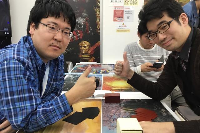 加藤 翔也 (左) vs. 後藤 洋昭 (右)