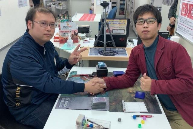 決勝戦:弓削 達郎 vs. 梶本 淳史