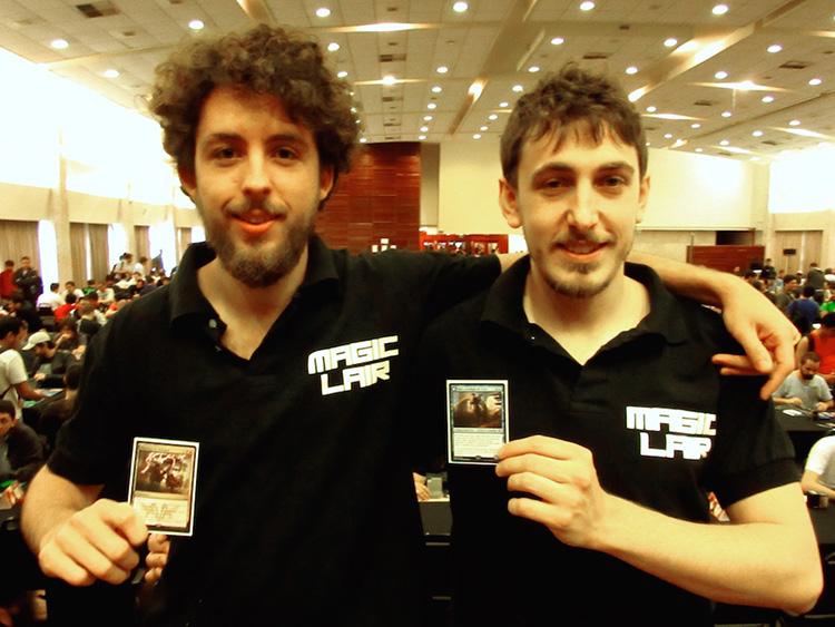 Luis Salvatto and Sebastian Pozzo