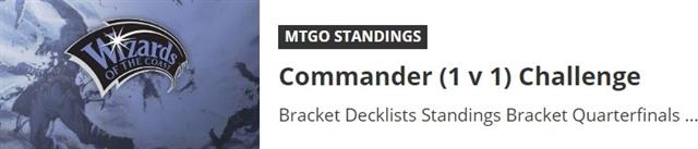 Commander Challenge