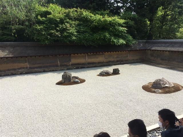 龍安寺 庭園の様子