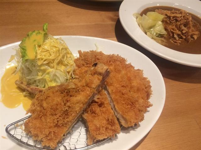 洋食屋コートレット(食事写真)