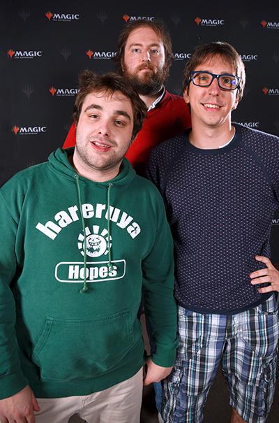 Branco,Thomas and Christophe