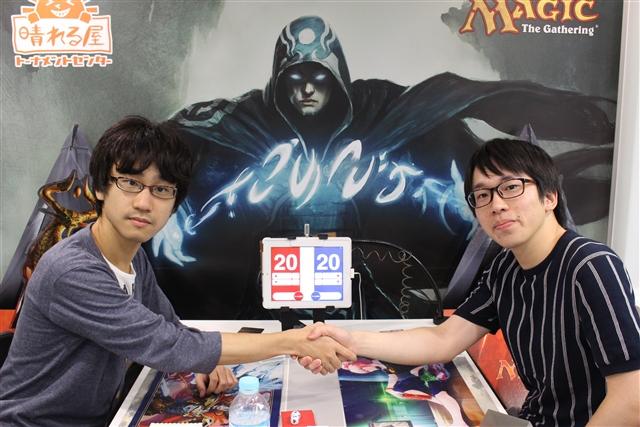 岡井 俊樹(東京) vs. 山口 智裕(茨城)