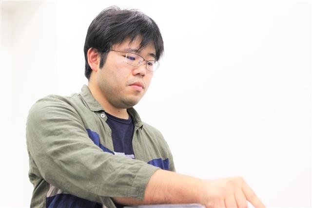 堂々と貫禄あるプレイを見せてくれた有田選手。川北から受け継いだタイトルを守るべく戦います。
