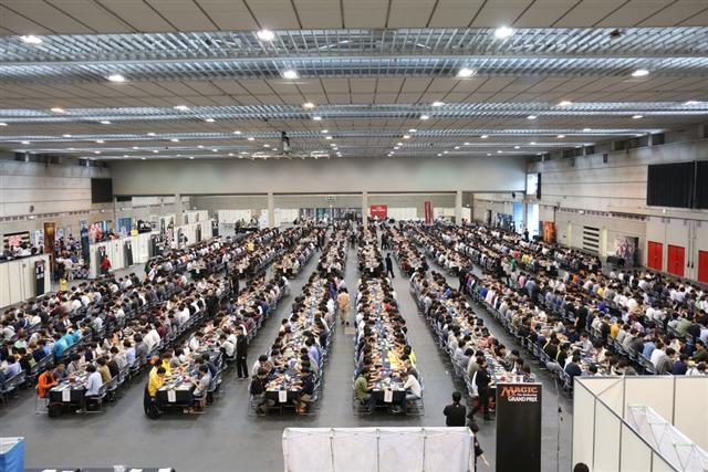 グランプリ・静岡2017秋会場風景