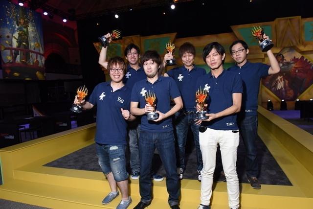2017年プロツアー・チームシリーズ優勝 Musashi