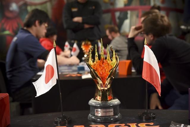 決勝戦、日本代表 vs. ポーランド代表