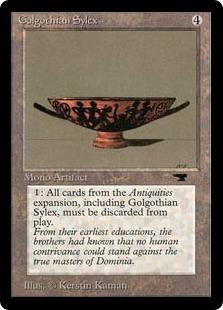 《Golgothian Sylex》[ATQ] 茶R