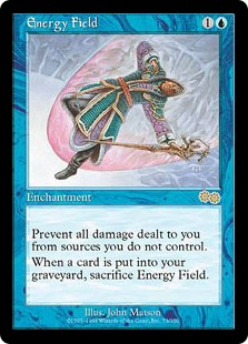《エネルギー・フィールド/Energy Field》[USG] 青R