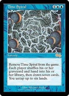 《時のらせん/Time Spiral》[USG] 青R