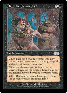 《悪魔の隷従/Diabolic Servitude》[USG] 黒U