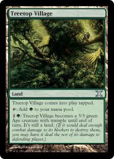 《樹上の村/Treetop Village》[10ED] 土地U