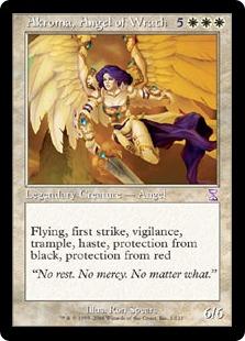《怒りの天使アクローマ/Akroma, Angel of Wrath》[TSB] 白