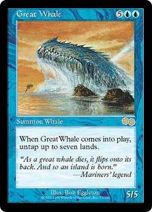 《巨大鯨/Great Whale》[USG] 青R