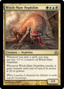 《魔女の腑のネフィリム/Witch-Maw Nephilim》[GPT] 金R