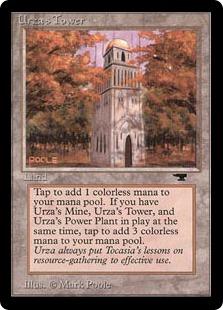 《ウルザの塔/Urza's Tower》A Forest[ATQ] 土地U