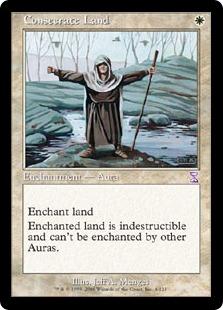 【Foil】《土地の聖別/Consecrate Land》[TSB]