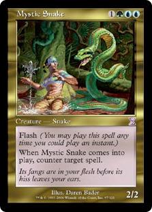 《神秘の蛇/Mystic Snake》[TSB] 金