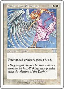《神性変異/Divine Transformation》[6ED] 白U