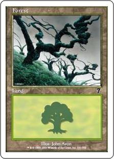 【Foil】《森/Forest》(331)[7ED] 土地