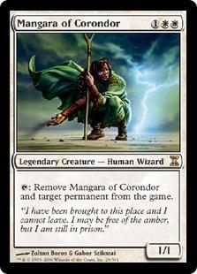 【Foil】《コロンドールのマンガラ/Mangara of Corondor》[TSP] 白R