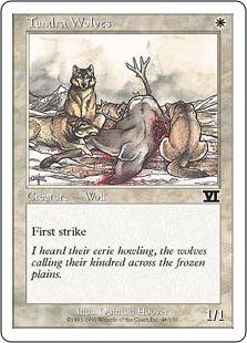 《ツンドラ狼/Tundra Wolves》[6ED] 白C