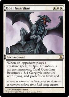 【Foil】《オパールの守護者/Opal Guardian》[TSP] 白R