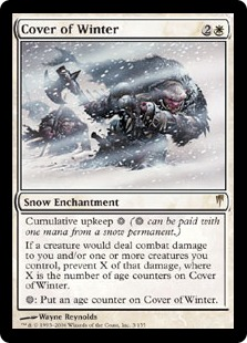 《冬の覆い/Cover of Winter》[CSP] 白R
