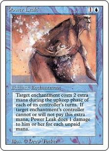 《魔力漏出/Power Leak》[3ED] 青C