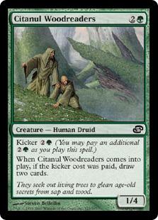 《シタヌールの樹木読み/Citanul Woodreaders》[PLC] 緑C
