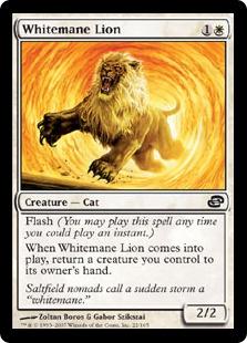 《白たてがみのライオン/Whitemane Lion》[PLC] 白C