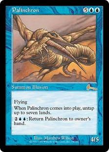 《パリンクロン/Palinchron》[ULG] 青R