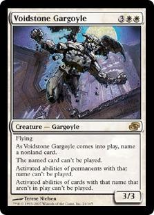 【Foil】《虚空石のガーゴイル/Voidstone Gargoyle》[PLC] 白R