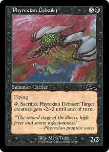 《ファイレクシアの堕落者/Phyrexian Debaser》[ULG] 黒C
