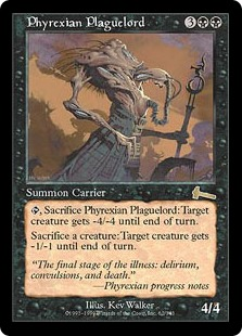 【Foil】《ファイレクシアの疫病王/Phyrexian Plaguelord》[ULG] 黒R