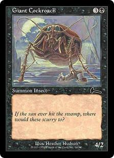 《巨大ゴキブリ/Giant Cockroach》[ULG] 黒C