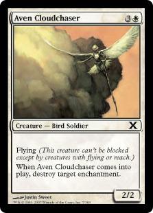 【Foil】《雲を追うエイヴン/Aven Cloudchaser》[10ED] 白C