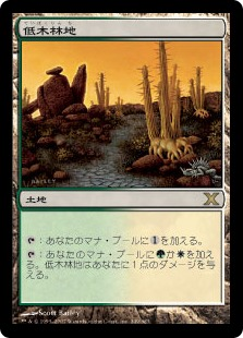 《低木林地/Brushland》[10ED] 土地R