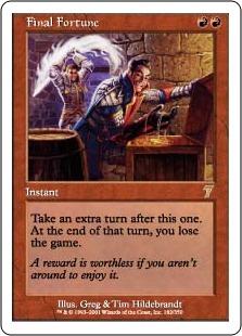 《最後の賭け/Final Fortune》[7ED] 赤R