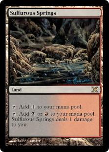 《硫黄泉/Sulfurous Springs》[10ED] 土地R
