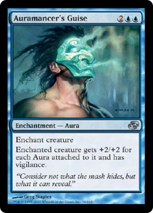 《オーラ術師の装い/Auramancer's Guise》[PLC] 青U