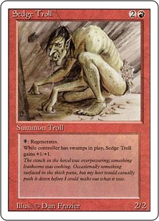 《Sedge Troll》[3ED] 赤R