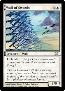 《剣の壁/Wall of Swords》[10ED] 白U