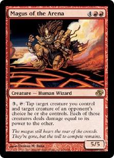 《闘技場の大魔術師/Magus of the Arena》[PLC] 赤R