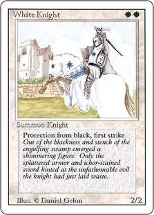《白騎士/White Knight》[3ED] 白U