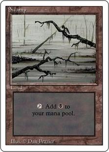 《沼/Swamp》[3ED]A 土地