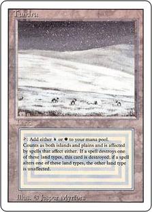 《Tundra》[3ED]土地R