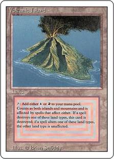《Volcanic Island》[3ED] 土地R