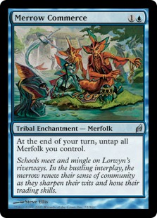 《メロウの交易/Merrow Commerce》[LRW] 青U